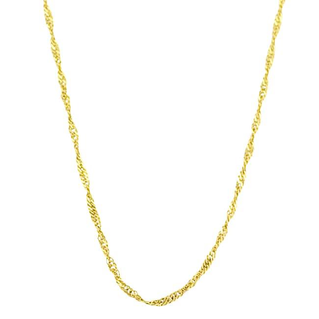 Fremada 10k Yellow Gold Singapore Chain (20-inch)