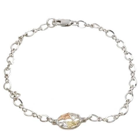 Black Hills Gold and Silver Bracelet