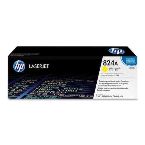 HP 824A (CB382A) Original Toner Cartridge - Single Pack