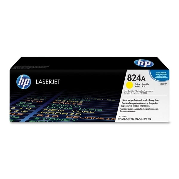 HP 824A (CB382A) Yellow Original LaserJet Toner Cartridge