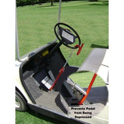 The Club Golf Cart Security Anti-theft Lock