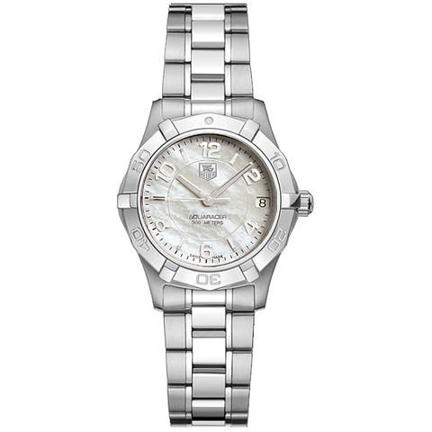 Tag Heuer Women's WAF1311.BA0817 Aquaracer Mother of Pearl Watch