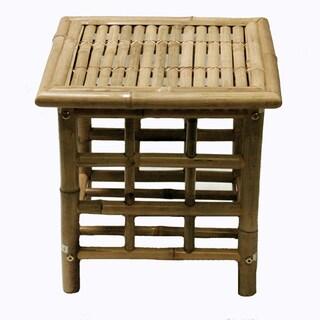 Handmade Bamboo End Table (Vietnam)