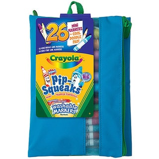 Crayola Pip-squeaks Fine Mini Washable Markers in Assorted Colors
