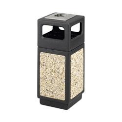 Safco Canmeleon 15-gallon Outdoor Waste Receptacle