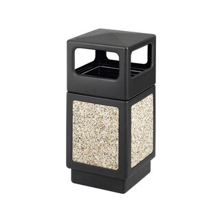 Safco Canmeleon 38-gallon Outdoor Waste Receptacle