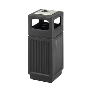 Safco Canmeleon 15-Gallon Polyethylene Outdoor Waste Receptacle (Option: Grey)