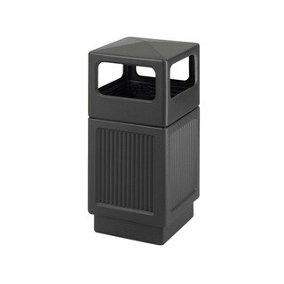 Safco Canmeleon Square 38-Gallon Outdoor Waste Receptacle