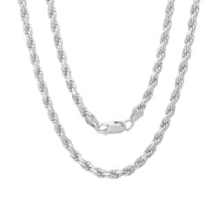 Sterling Essentials Sterling Silver 24-inch Diamond-Cut Rope Chain (2.5mm)|https://ak1.ostkcdn.com/images/products/3271011/P11375875.jpg?impolicy=medium