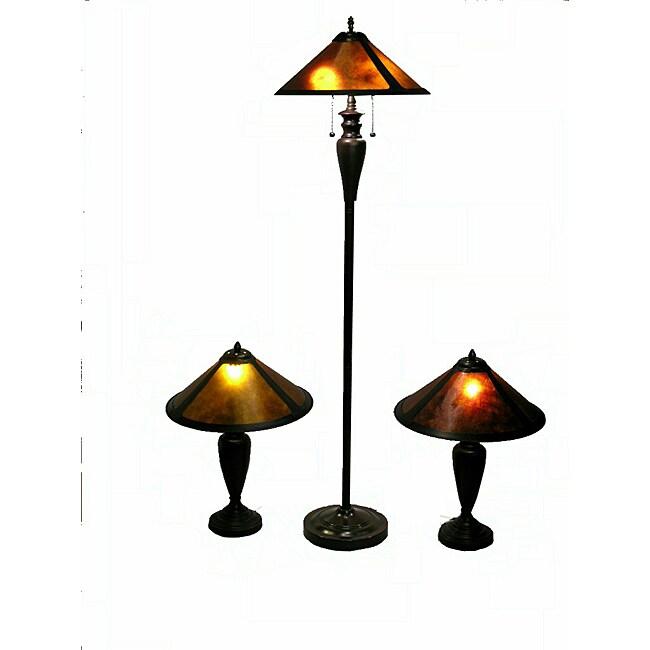 Mica Collection Lighting Set