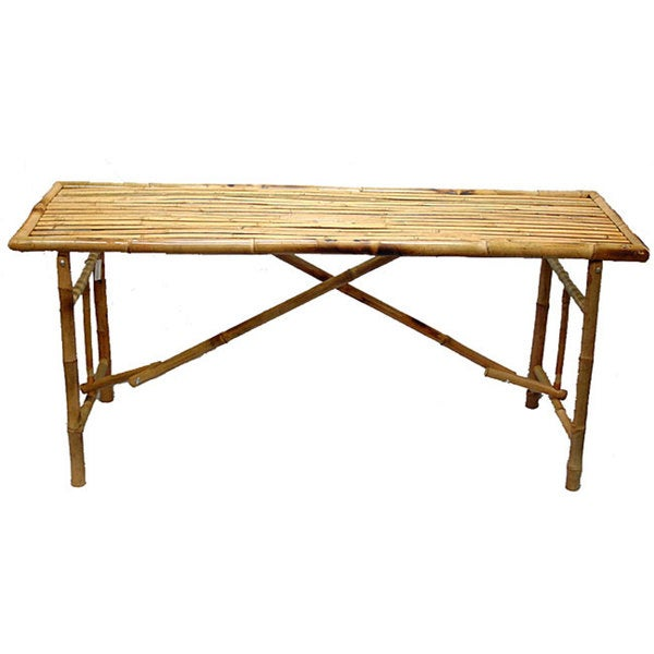 Exceptionnel Bamboo Folding Table (Vietnam)