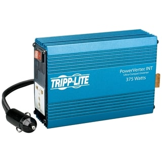 Tripp Lite International Ultra-Compact Car Inverter 375W 12V DC to 23