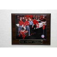 The Petty Family NASCAR Collectible Plaque