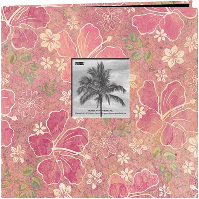 Pioneer Photo Albums Pioneer Tropical Post 12-inch Bound ...