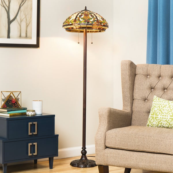 Shop Tiffany Style Classic Floor Lamp Free Shipping