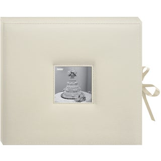 "Pioneer D-Ring Sewn Leatherette Album Box 13""""X14.5"""""