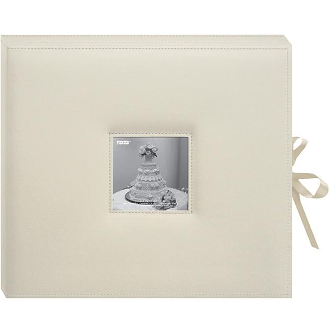 Pioneer Photo Albums Pioneer D-Ring Sewn Leatherette Albu...