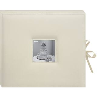 "Pioneer D-Ring Sewn Leatherette Album Box 13""""X14.5""""