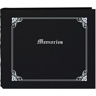 Pioneer 'Memories' 12x12 Black Memory Book Binder with 40 Bonus Pages