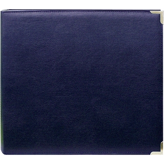 Pioneer Navy 12x12 Memory Book Binder with 40 Bonus Pages