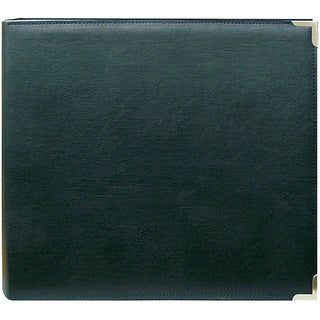 Pioneer Green 12x12 Memory Book Binder with 40 Bonus Pages