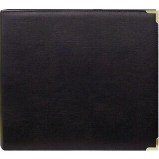 Pioneer Black 12x12 Memory Book Binder with 40 Bonus Pages