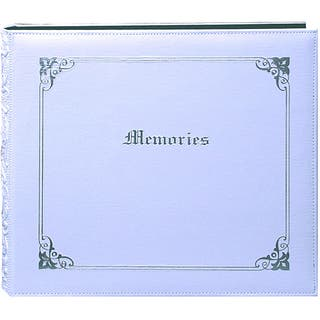 Pioneer 'Memories' 12x12 White Memory Book Binder with 40 Bonus Pages|https://ak1.ostkcdn.com/images/products/3274920/P11378933.jpg?impolicy=medium