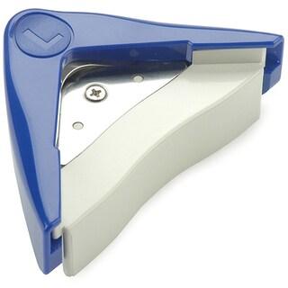 Large 10-millimeter Plastic/Metal Corner-rounding Paper Cutter Tool