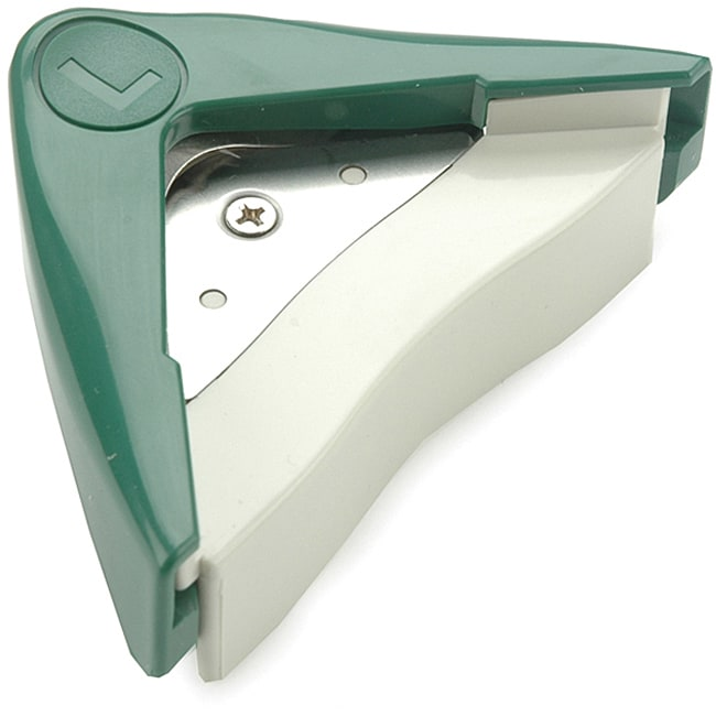 Clever Choice Corner Rounder Large Paper Cutter, Silver s...