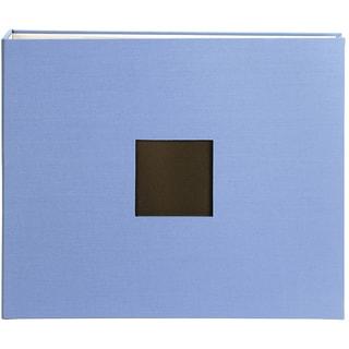 American Crafts 12x12 Blue Cloth D-ring Album