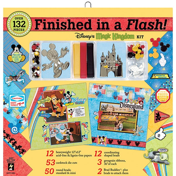 Finished In A Flash 12x12 Scrapbooking Kit