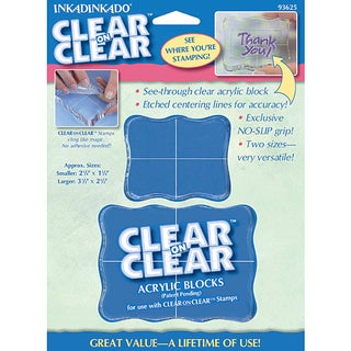 Inkadinkado Clear Stamping Blocks