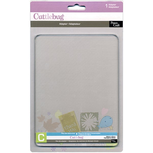 Cricut Cuttlebug Thin Die Adapter/ Cutting Pad