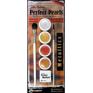 Perfect Pearls Four-Color Metallic Selection Ink Set