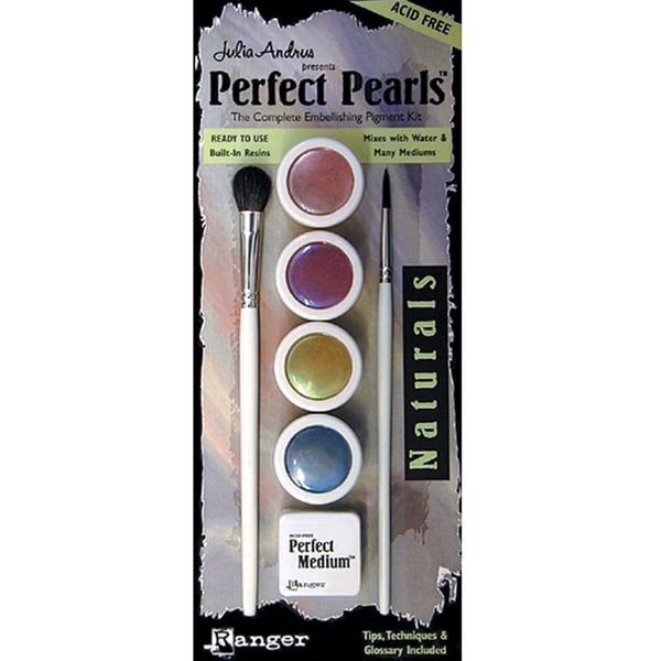 Perfect Pearls 4-color Ink Set