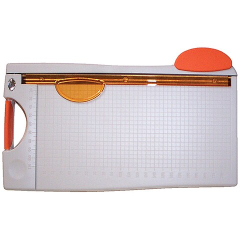 Stainless-steel Blade Guillotine Paper Cutter with Measuring Grid