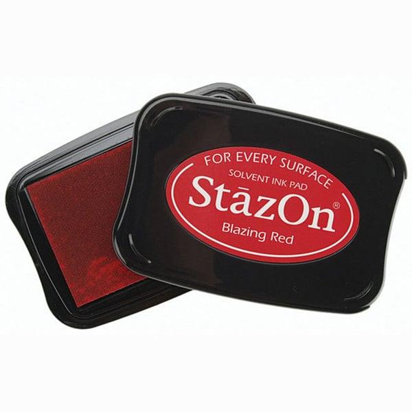 Staz-On Red Ink Pad