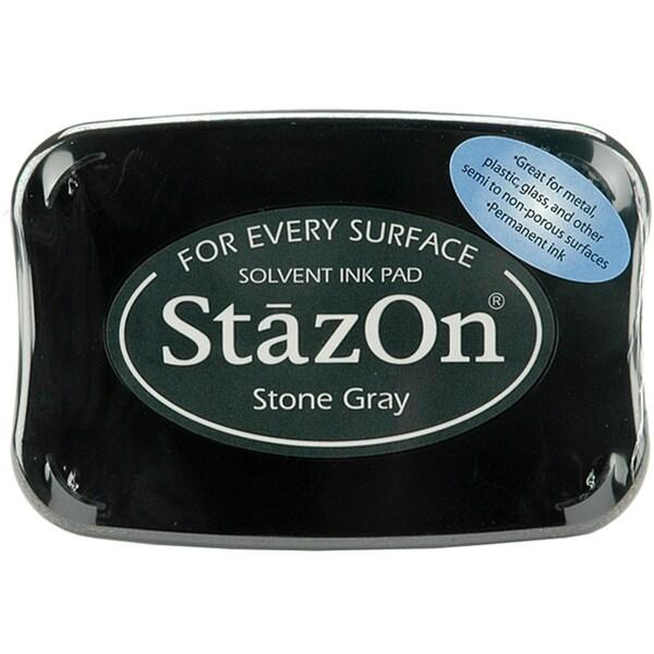 StazOn Stone Gray Ink Pad