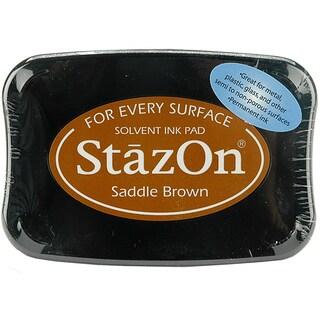 StazOn Saddle Brown Inkpad