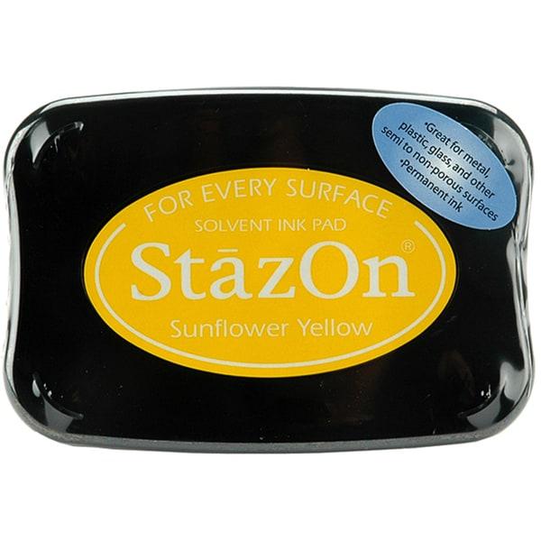 StazOn Sunflower Yellow Inkpad