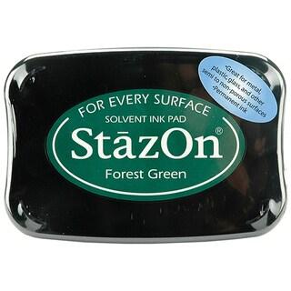 StazOn Forest Green Inkpad