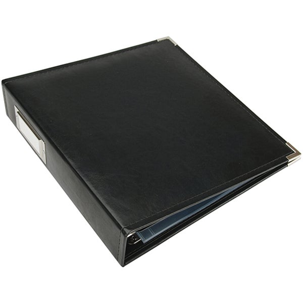Shop faux leather 3 ring binder free shipping on orders for American crafts 3 ring scrapbook album binder