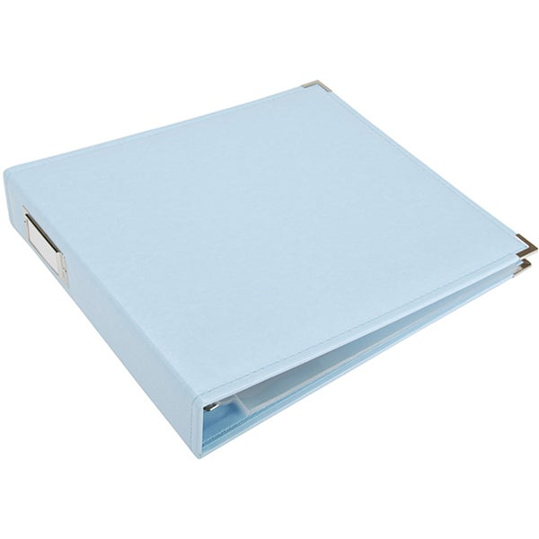Faux Leather 12x12 3-ring Binder