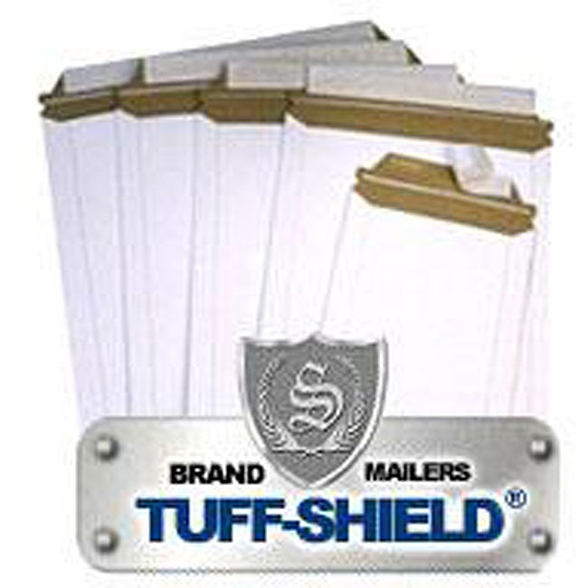 Rigid 6x8-inch Stayflat Mailers (Case of 100)
