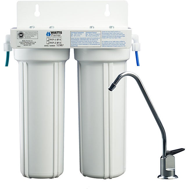 Two Stage Under Counter Water Filter Free Shipping Today
