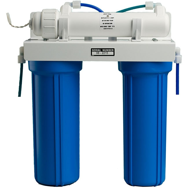Three-stage Under-counter UV Filtration System