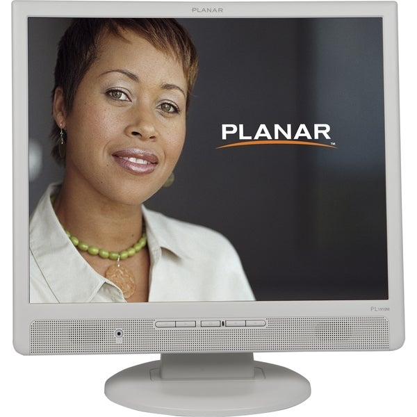 """Planar PL1910M-WH 19"""" LCD Monitor - 4:3 - 5 ms"""