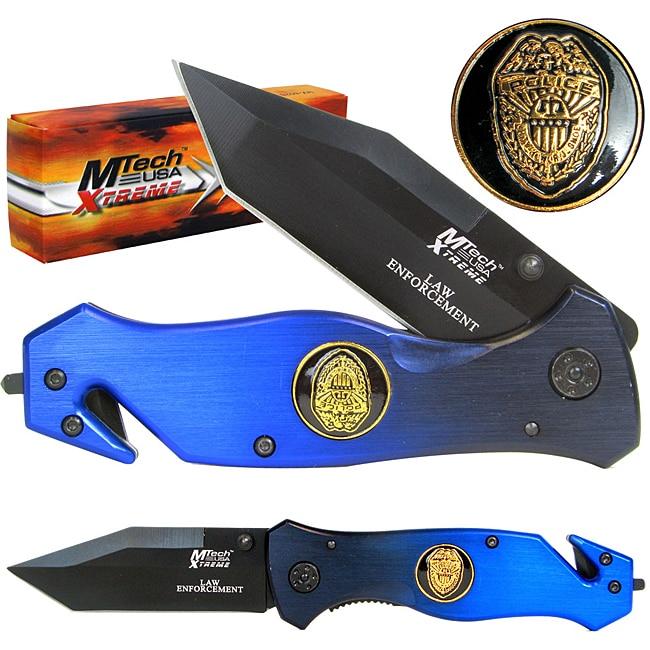 Xtreme Rescue Police 8-inch Folding Pocket Knife