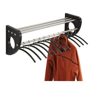 Safco Mode Wood 37.5-inch Wall Coat Rack