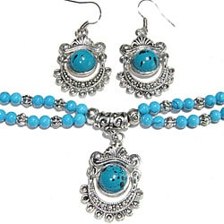 Image result for turquoise jewelry set